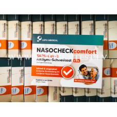Covid -19 Lepu Medical SELF  Antigen Tests 5 GAB (Ceļošanai) Vācija, Čehija, Austrija